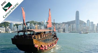 Traversée de la Baie de Victoria, Hong Kong