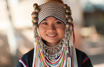 Tribu Akha Chiang Rai Thaïlande