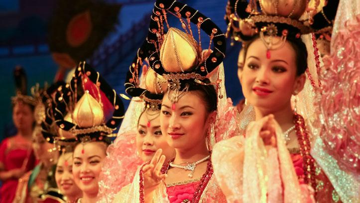 troupe de danseurs chinois xian