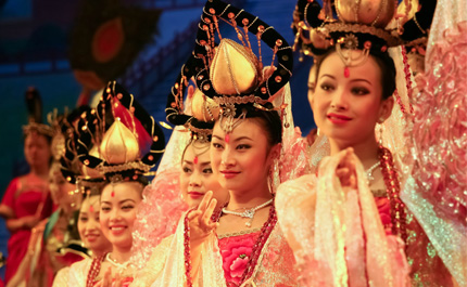 Danseurs chinois Xian