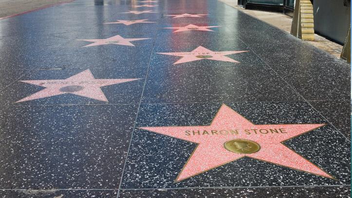 USA Californie Los Angeles Hollywood Boulevard etoiles