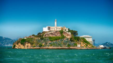 San Francisco prison Alcatraz