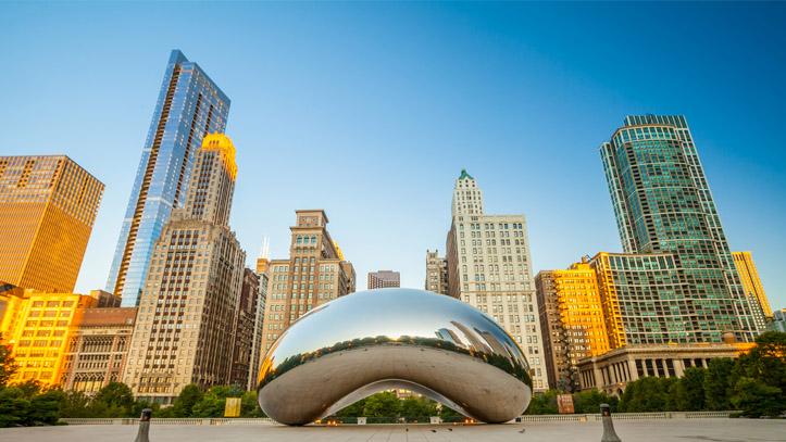 USA CHICAGO MILLENNIUM PARK