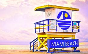 USA Floride Miami plage