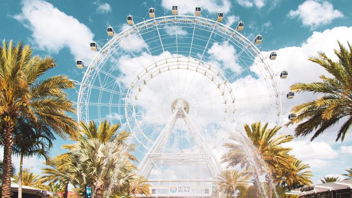 Usa Floride Orlando Grande roue