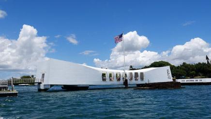Hawaii Oahu Pearl Harbord