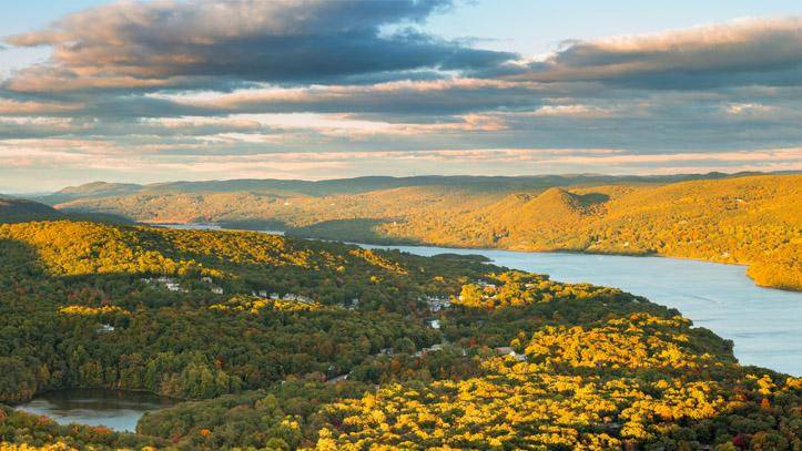 Hudson Valley rivière