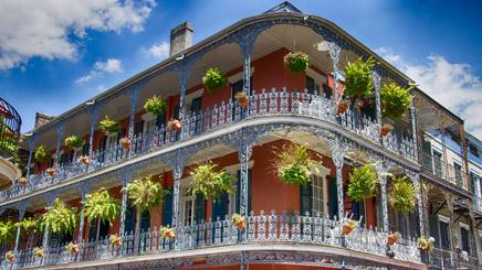 Louisiane Nouvelles Orleans Balcons