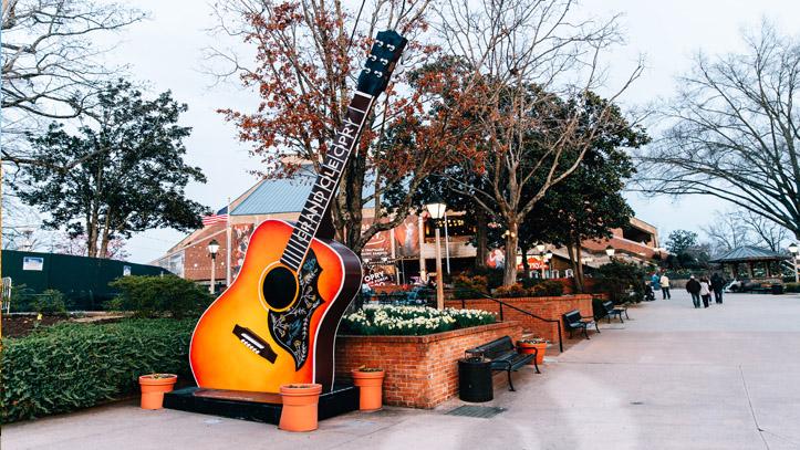Nashville guitare décoration