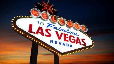 Las Vegas Panneau Lumières