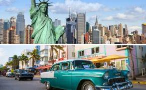 New York Miami combiné