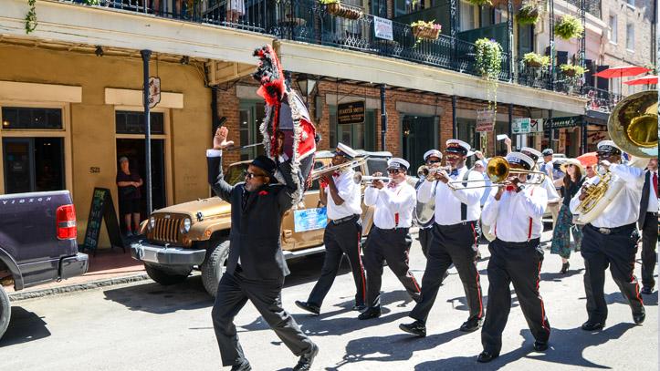 Nouvelle Orleans Jazz Musiciens
