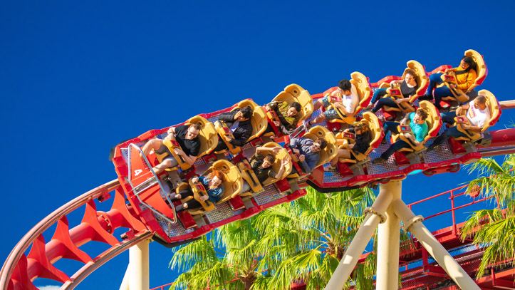 Orlando attractions manege enfants