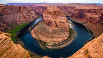 Ouest Lake Powell Canyon
