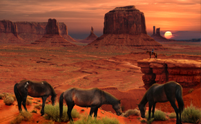 Parc Ouest Monument Valley