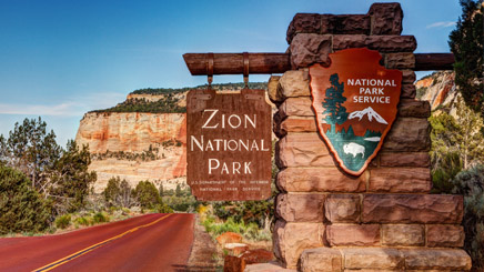 Utah Zion National Parc