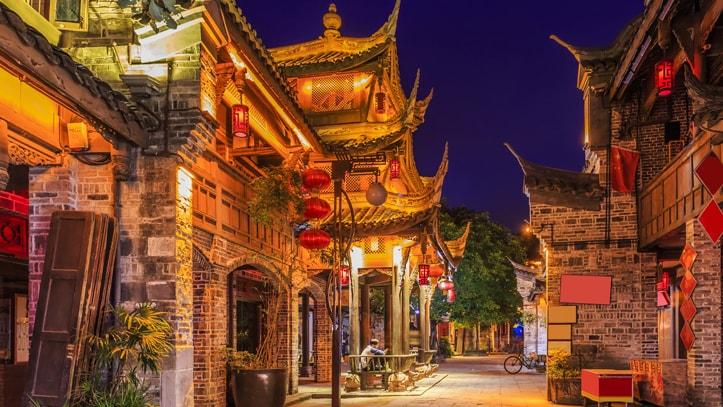 vieille ville Chengdu