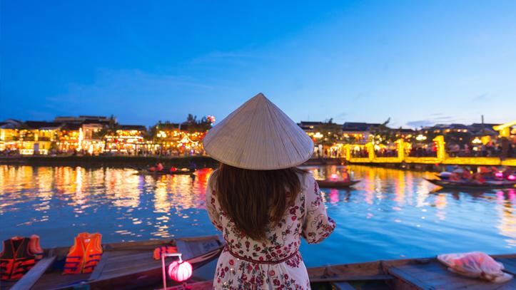 Vietnam Hoian Chapeau conic