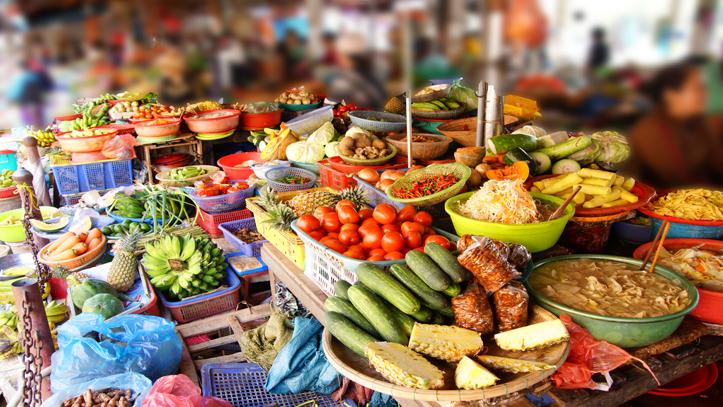 Vietnam Hoi An marché légumes