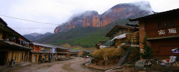 village Lijinang minorite naxi