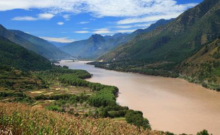 Village Lijiang minorité