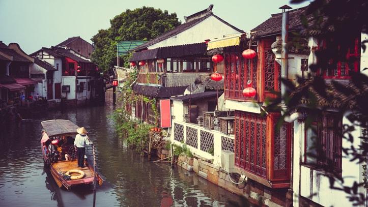 Ville d'eau province Shanghai