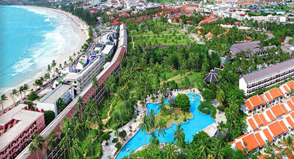 Hotel Duangjitt à Phuket, Thailande