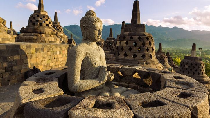 Temple Borobudur Indonésie