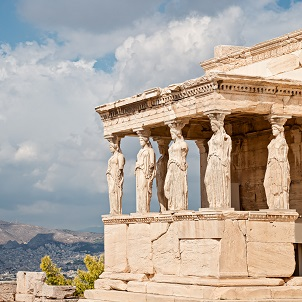 Erechthéion d'Athènes