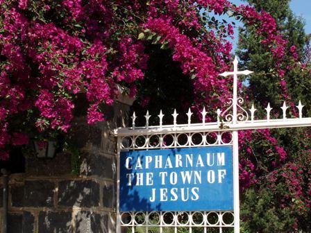 Capharnaum - Pèlerinage Terre Sainte