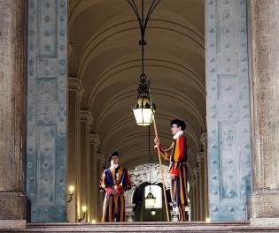 Gardes Suisses - Pèlerinage Rome
