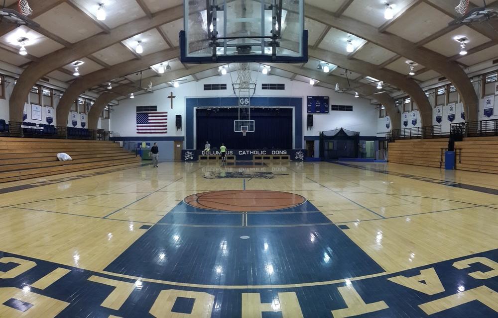 Gymnase basket