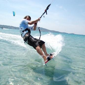 Visuel Week-end kitesurf INITIATION 3 jours en France à l'Almanarre