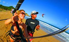 Séjour kitesurf INITIATION en Rép Dom à Cabarete