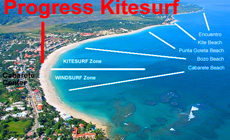 Séjour kitesurf COACHING en Rép Dom à Cabarete
