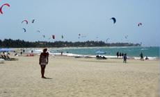 Séjour kitesurf AUTONOME en Rép Dom à Cabarete.  Promo : 2è SEMAINE A -50%!