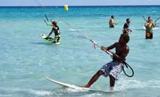 Séjour kitesurf INITIATION au Cap Vert sur l'Ile de Sal