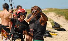 Séjour kitesurf COACHING sur l'Ile de Sal au Cap Vert