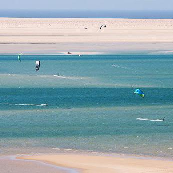 Visuel Séjour kitesurf  INITIATION au Maroc à Dakhla