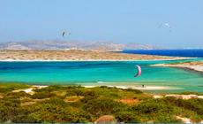 Séjour kitesurf INITIATION en Grèce à Paros