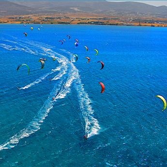 Visuel Séjour kitesurf INITIATION en Grèce à Paros