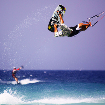 Visuel Séjour kitesurf AUTONOME en Grèce à Ialyssos