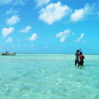 Visuel Séjour kitesurf INITIATION à l'Île Rodrigues