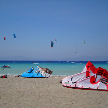 Visuel Séjour kitesurf INITIATION en Grèce à Theologos