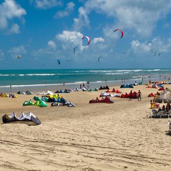Visuel Séjour kitesurf INITIATION au Brésil à Cumbuco