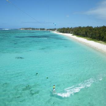 Visuel Séjour kitesurf INITIATION à l'Île Maurice