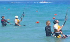 Séjour kitesurf INITIATION en Grèce à Theologos