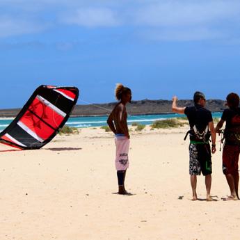 Visuel Séjour INITIATION kitesurf à Boa Vista au Cap Vert