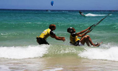 Séjour kitesurf AUTONOME aux Canaries à Sotavento