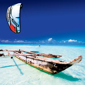 Visuel Séjour kitesurf AUTONOME à Zanzibar sur Paje Beach
